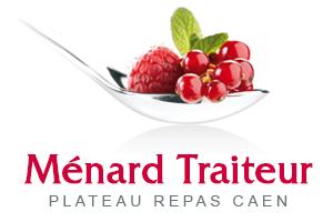 Logo Plateau Repas Caen by Ménard Traiteur